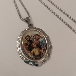 Religious Necklace with Chain